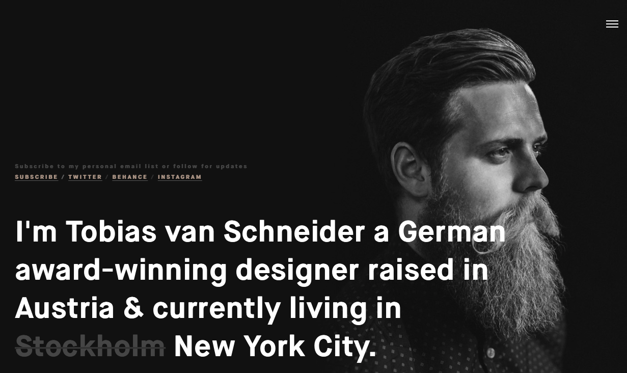 tipografia bold