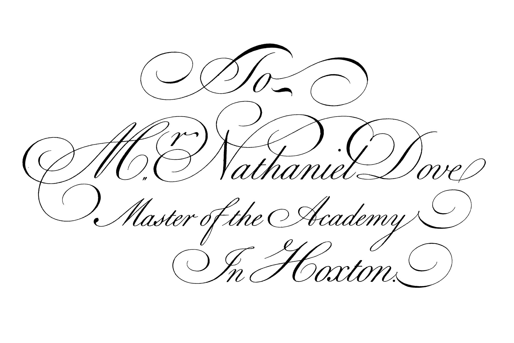 Caratteri tipografici pipù utilizzati in pubblicità: Bickham Script