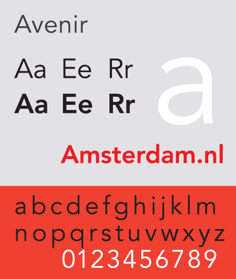 25 most used typefaces in advertising: Avenir