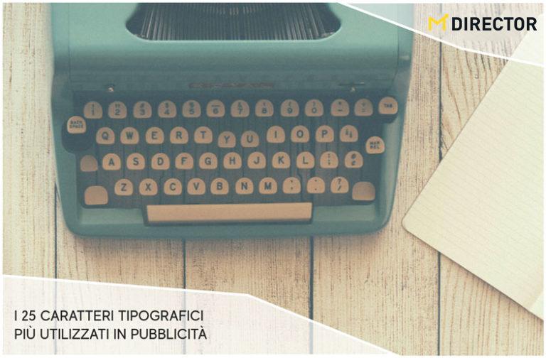 25 caratteri tipografici piu utilizzati in pubblicità