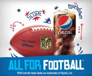design a good display campaign banner: Pepsi