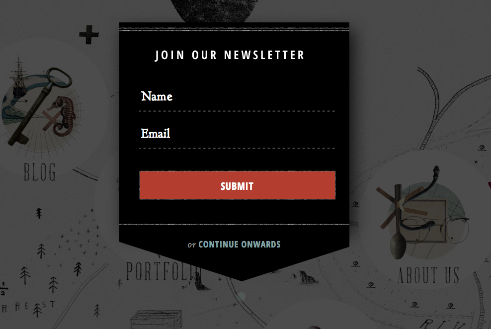 examples of forms that will help you capture subscribers