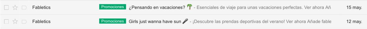 incluir emojis en los asuntos de emails
