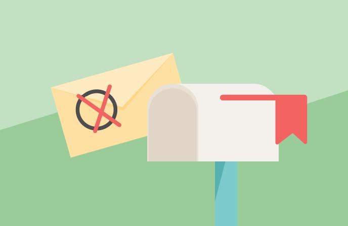 tipos de rebotes: email devuelto