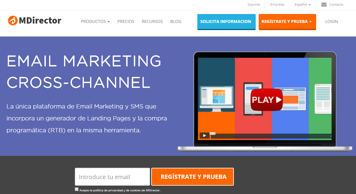 mandamientos del email marketing: herramientas