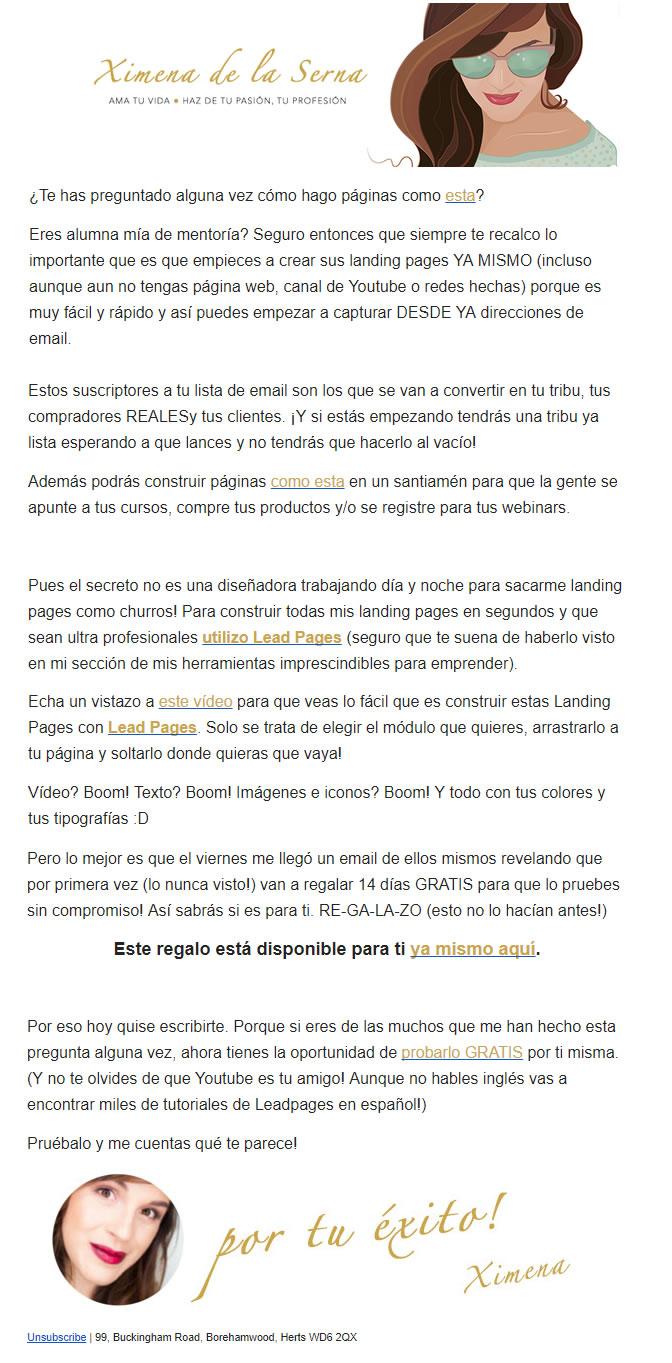 email marketing para construir tu marca personal