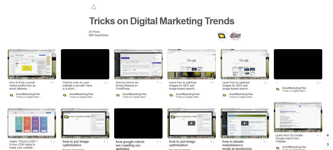 tableros de marketing digital: Tricks on Digital Marketing Trends