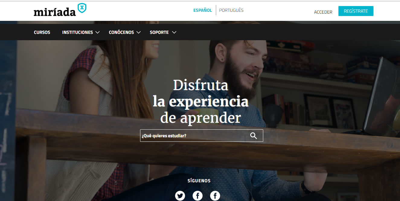 cursos gratuitos de marketing digital: Miriadax