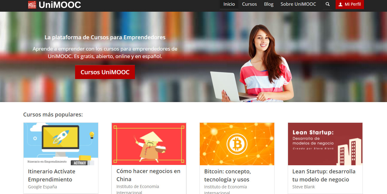 cursos gratuitos de marketing digital: Unimooc