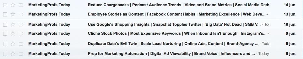 motivos que paralizan las ventas por email