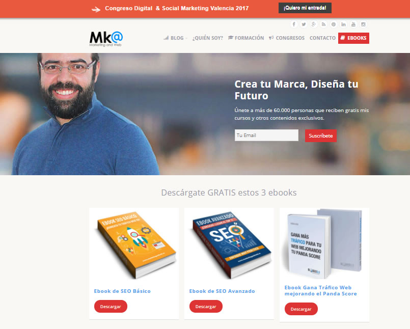 cursos gratuitos de marketing digital: marketing and web