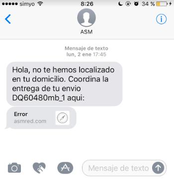 tipos de SMS: atención al cliente