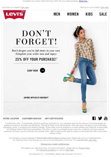 email marketing para un ecommerce