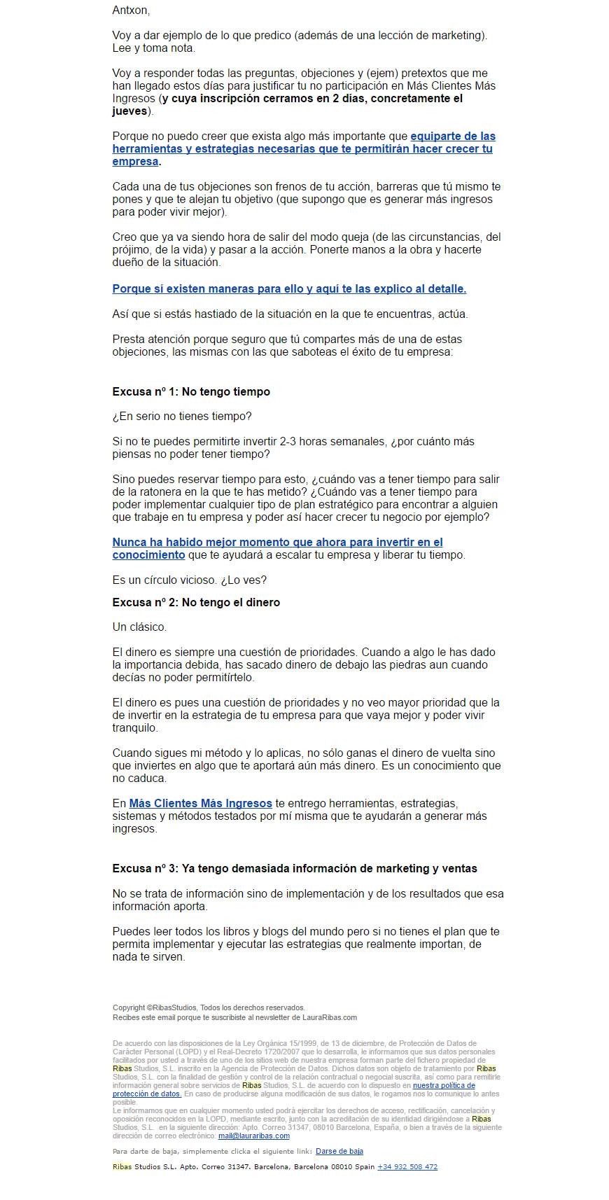 consejos para atender a tus clientes por email