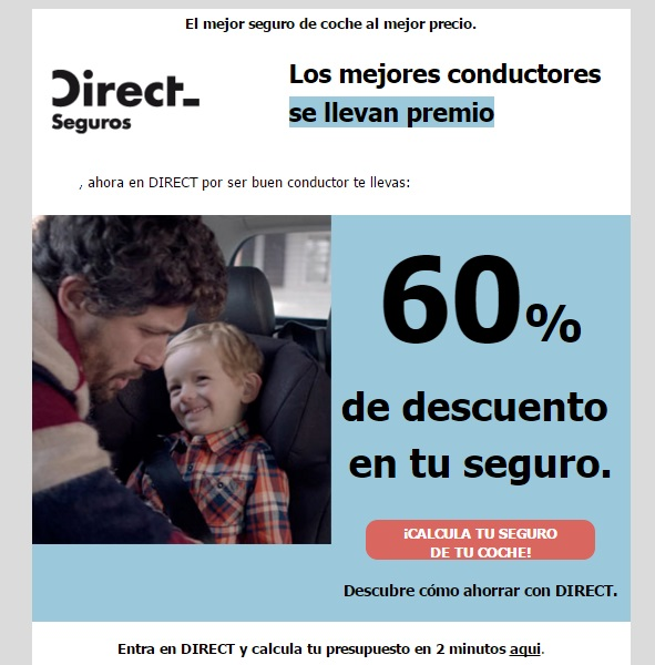 obiettivi con il marketing e-mail direct seguros