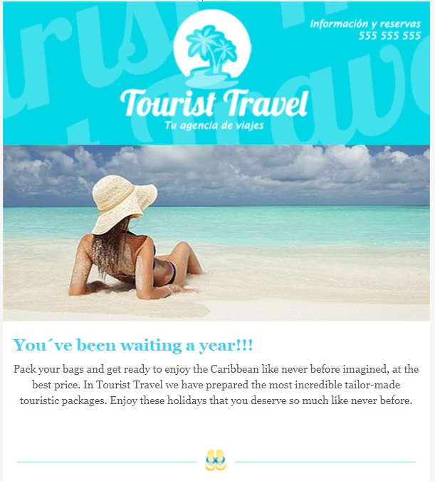 email templates: travel