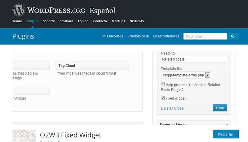 herramientas complementarias para email marketing: Fixed Widget