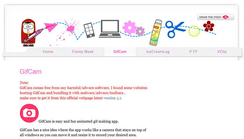herramientas complementarias para email marketing: Gifcam