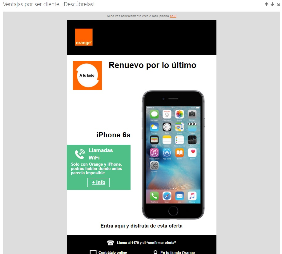 obiettivi con il marketing e-mail orange