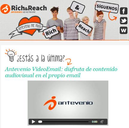 Antevenio Rich & Reach