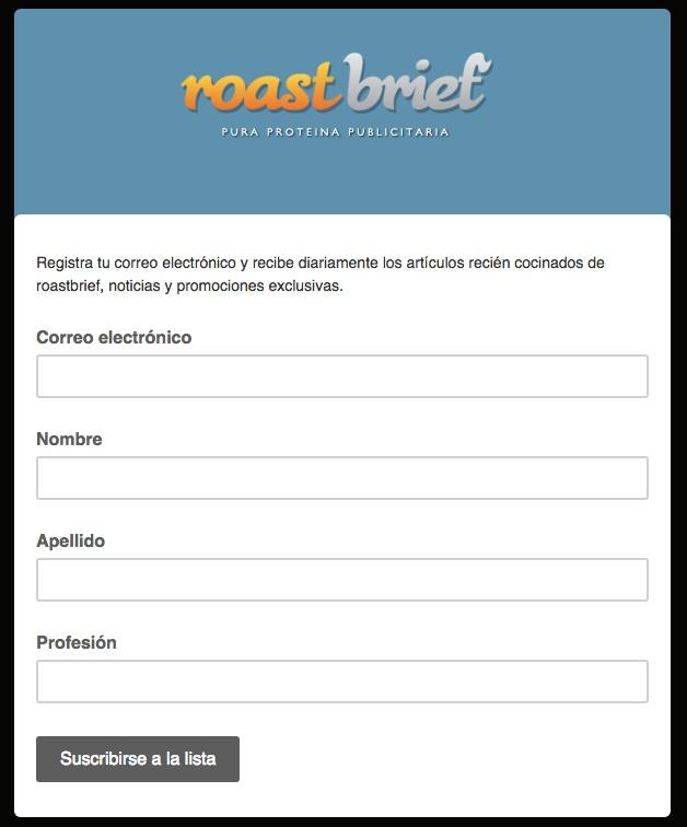 forme per attirare i clienti roastbif