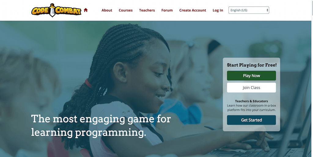 campagne con landing pages di successo: CodeCombat