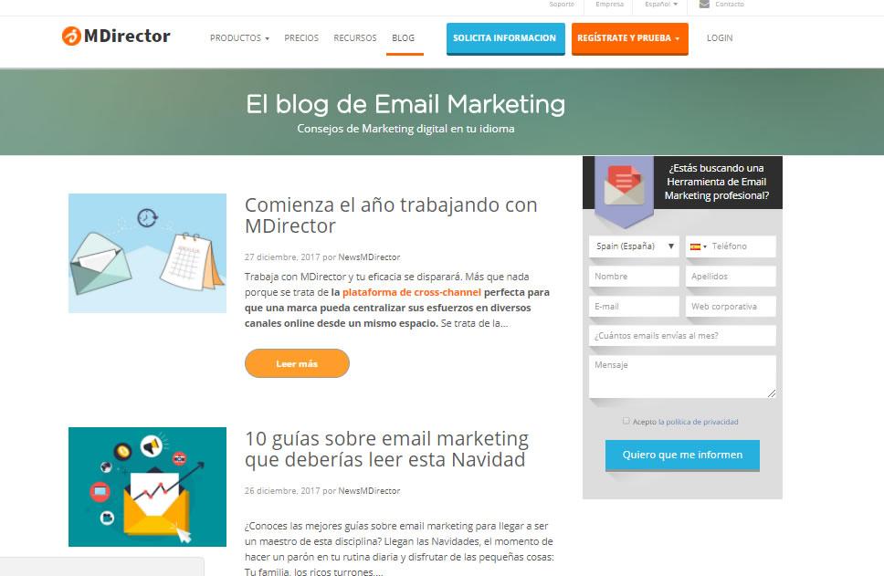 mejores posts de marketing de MDirector