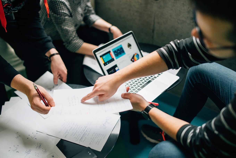 calendario de marketing: cooperación del equipo