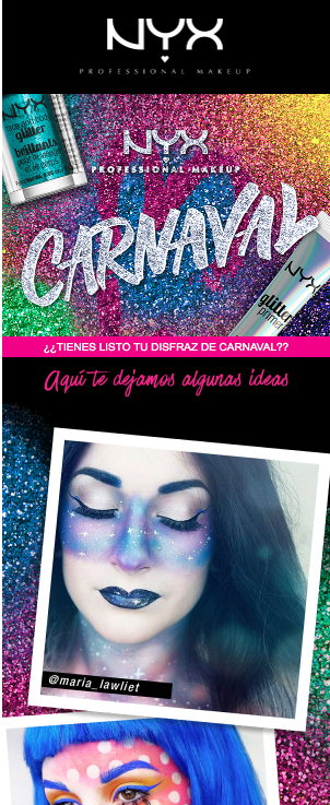 landing page para carnaval