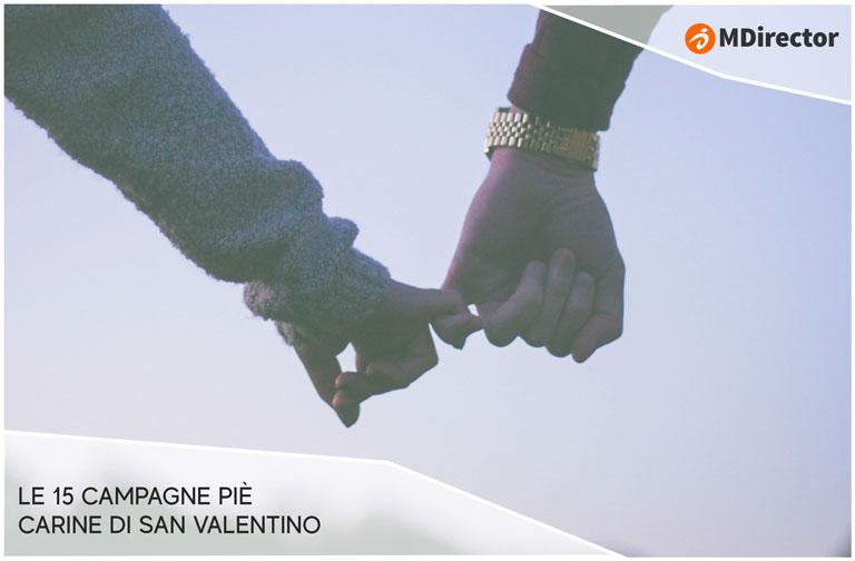 Le 15 campagne più carine di San Valentino