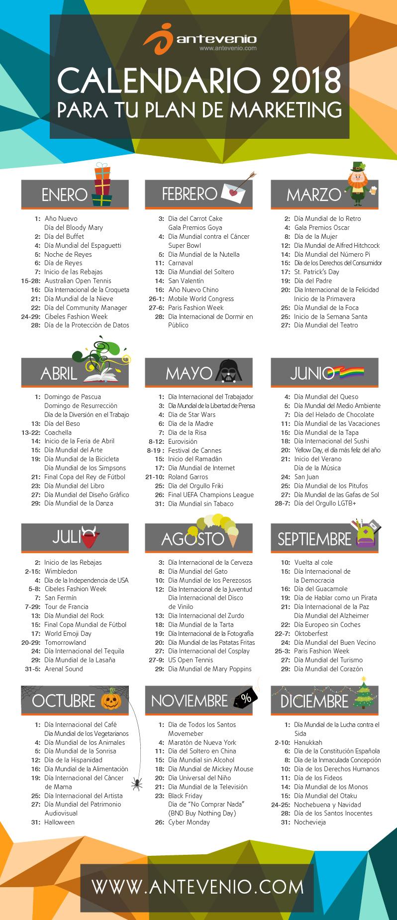 calendario de marketing digital