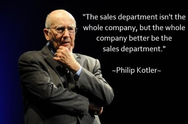 20 frasi celebri di digital marketing: Philip Kotler