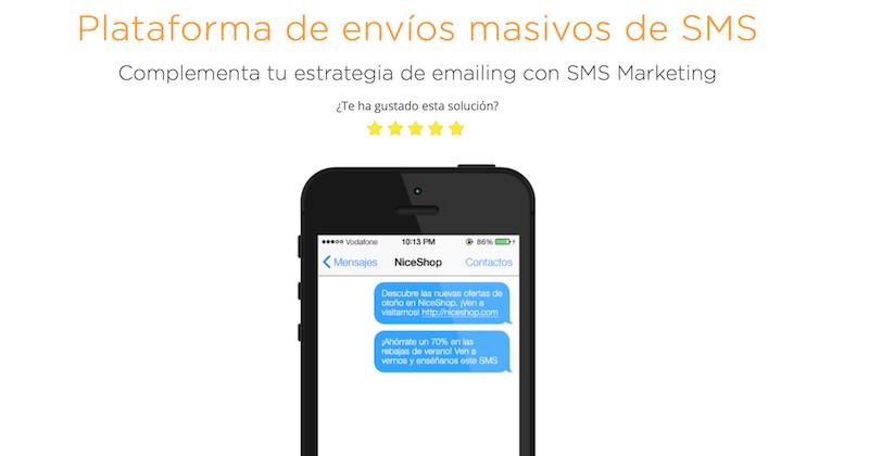 sms masivos MDirector