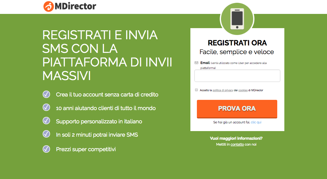 iscrizione in double opt-in