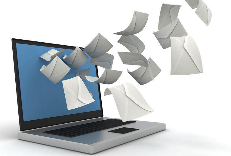 El correo electrónico permite que se compartan varios mensajes