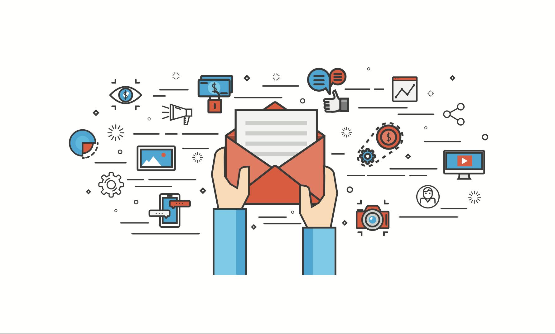 El correo electrónico es ideal para construir campañas multicanal