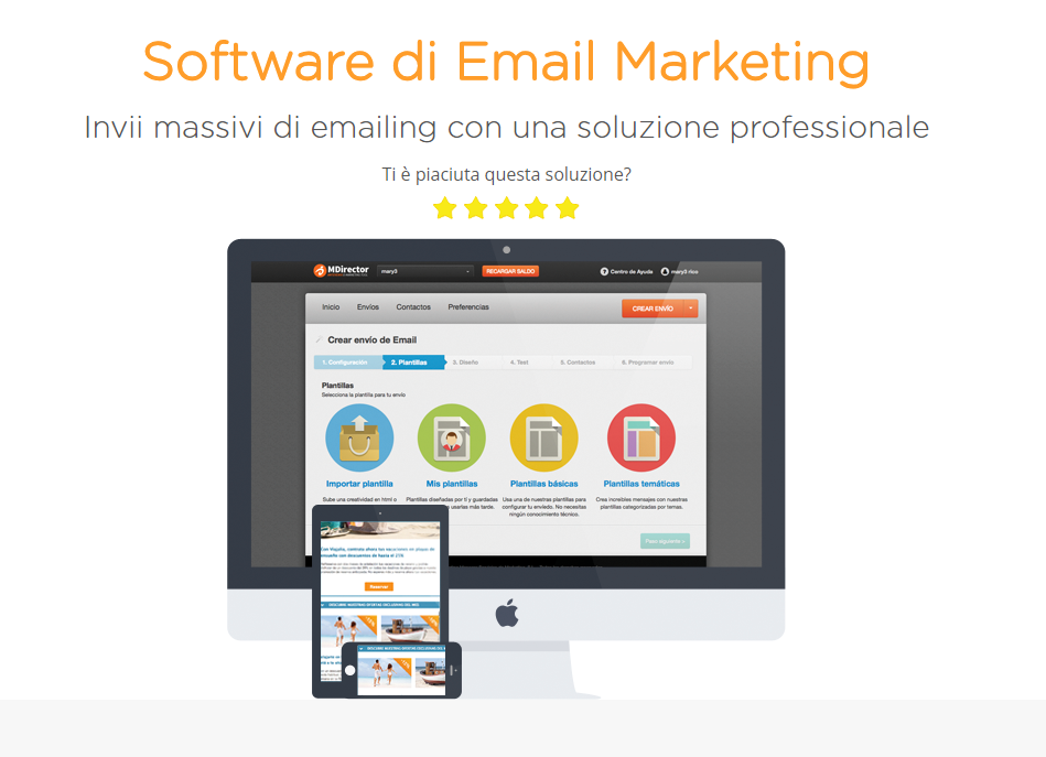 email marketing mdirector