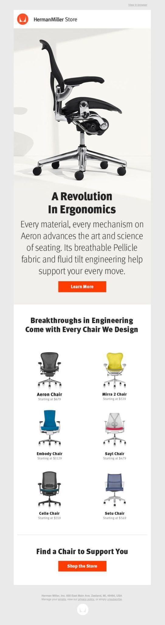 email marketing para crear imagen de marca CTA