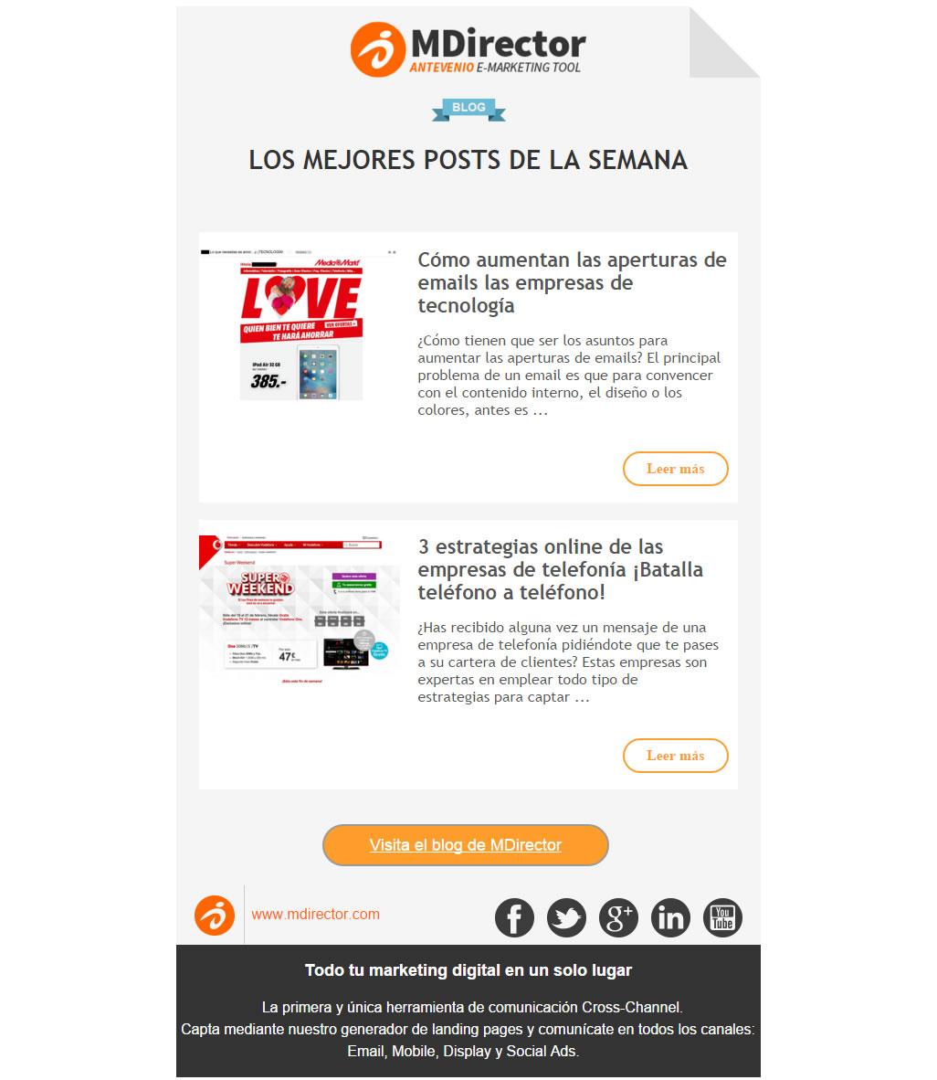 Email marketing e blogs aziendali