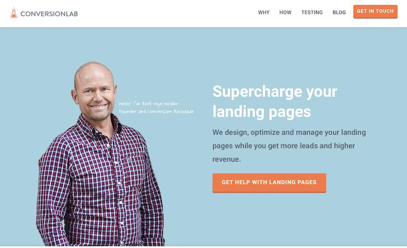 landing ejemplo