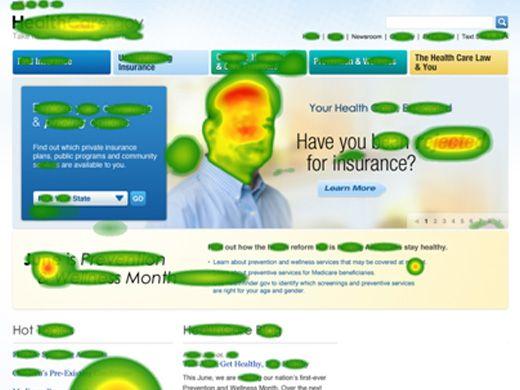neuromarketing para aumentar la captación de clientes mapa de calor