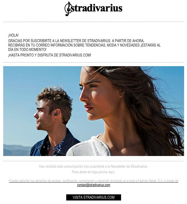 cadena de emails de bienvenida