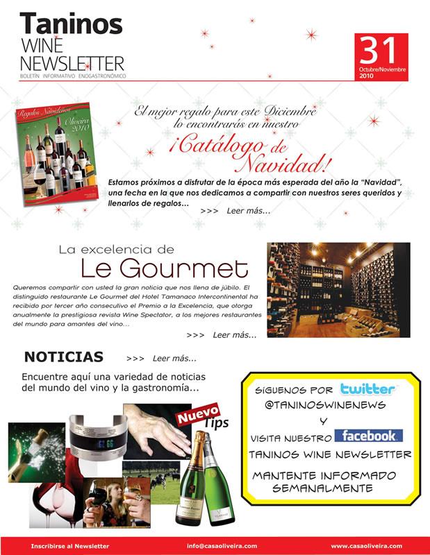 Newsletters para vender más en otoño: Catalogo previo a Navidad