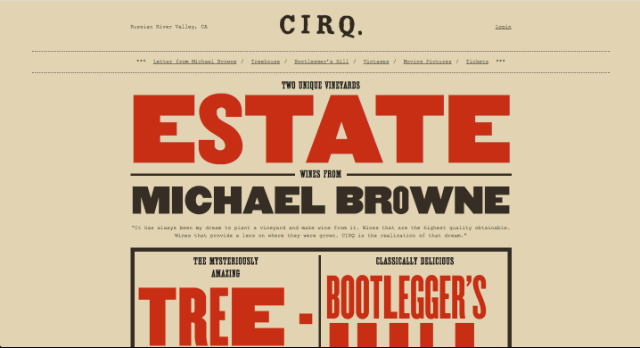 Los diseños tipográficos