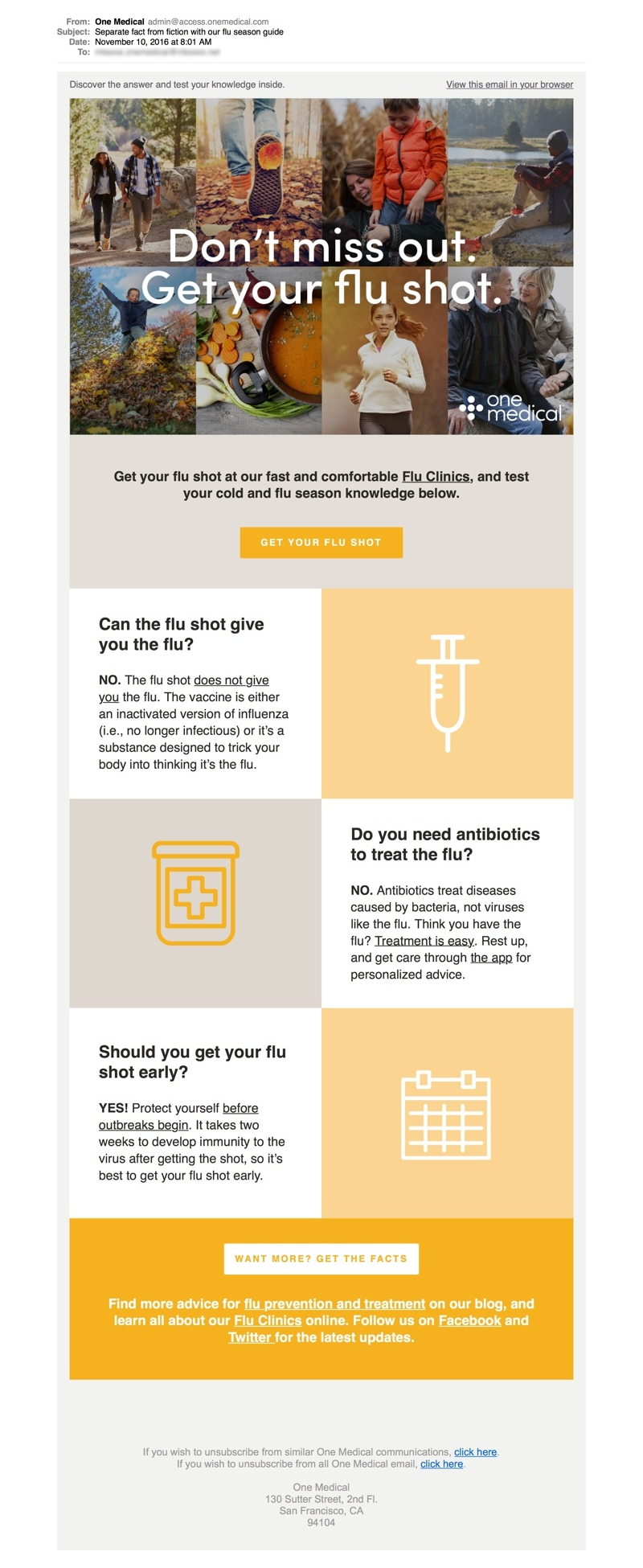Email marketing en el sector de la salud. Piezas educativas