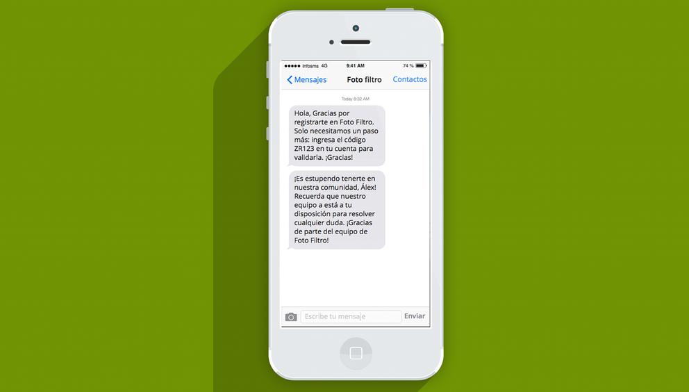 SMS marketing para conservar clientes mejorar la relación