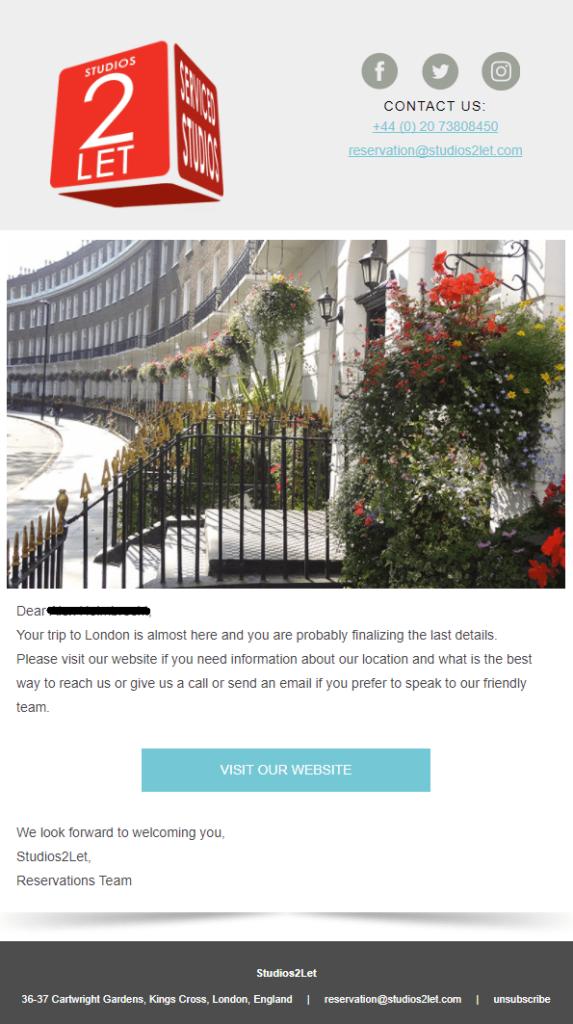 expectativas email marketing para el sector del turismo