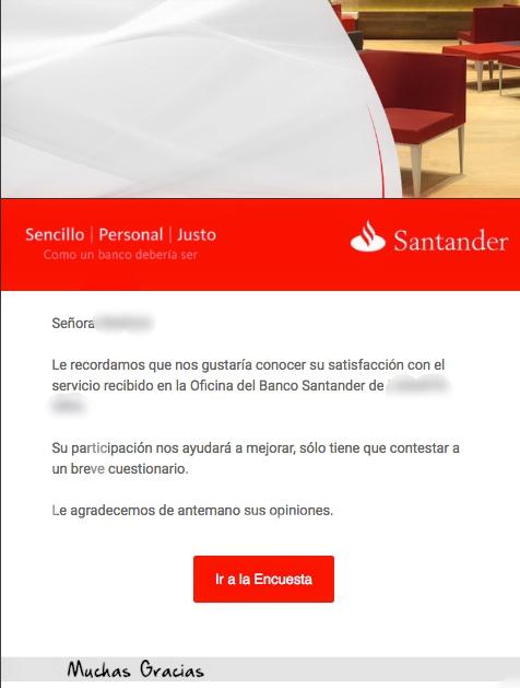 feedback email marketing para el sector bancario