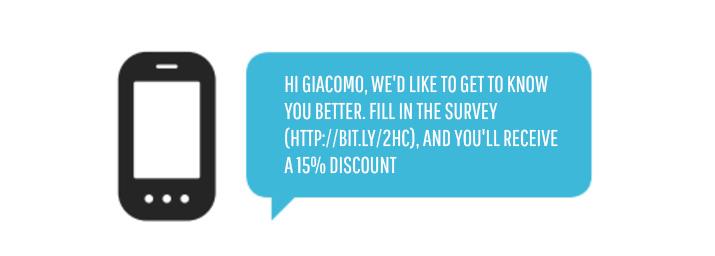 encuesta SMS marketing para recuperar clientes perdidos