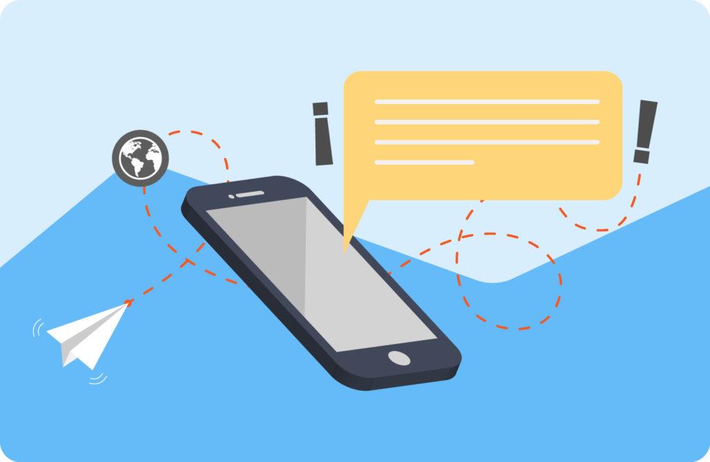 SMS marketing en el sector del ocio plantilla